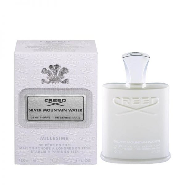 Creed Silver Mountain Water Eau De Parfum box www.orchidps.ir