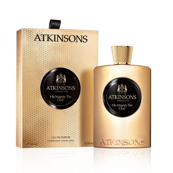 Atkinsons Oud Save The Queen Eau De Parfum 100ml box