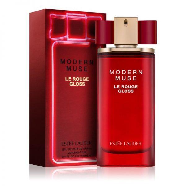 Estee Lauder Modern Muse Le Rouge Gloss Eau De Parfum 100ml box