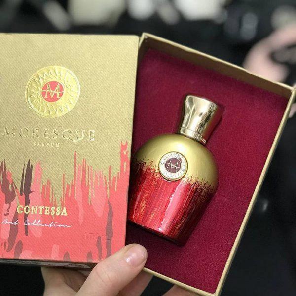 Moresque Contessa Eau De Parfum 50ml box