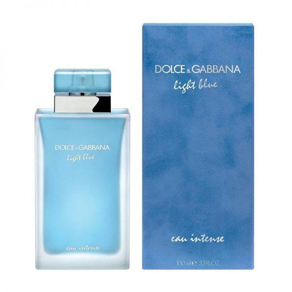 Dolce And Gabbana Light Blue Eau Intense 100ml box