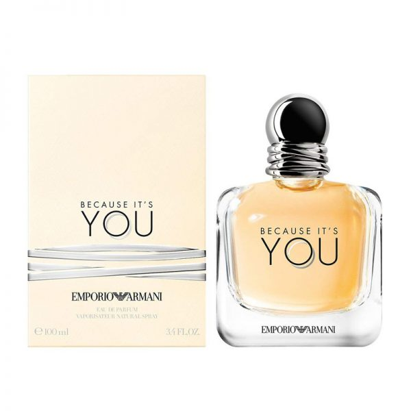 Emporio Armani Because It's You 100ml box