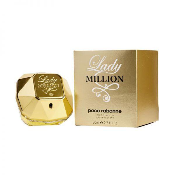 Paco Rabanne Lady Million Eau De Parfum 80ml box